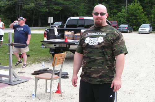 Chris Popovich APA Maine Powerlifting Meet Results Summary