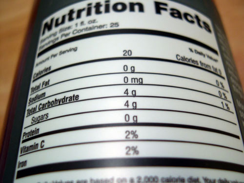 Learn How To Read The Nutrition Label