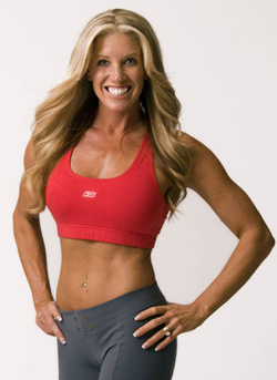 Model and Health Fitness Columnist Bonnie Pfiester