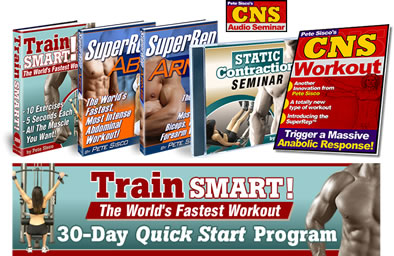 Pete Cisco Train Smart 2009 - Mega Deal