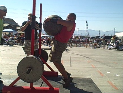 Strongman vs. Power Cleans For Football - Part 3
